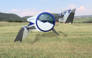 """Flying Gondola"" Prototype Next MOBILITY® When Landing"